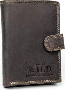 Always Wild kožená peněženka RFID (D1072L-MHU BROWN) Velikost: univerzální