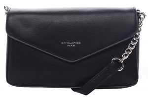 David Jones Dámská crossbody kabelka Black CM5473