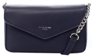 David Jones Dámská crossbody kabelka Dark Blue CM5473