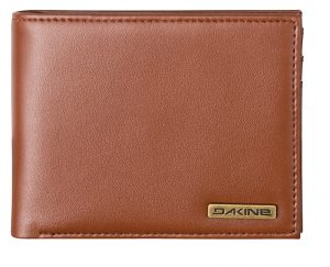 Dakine Kožená peněženka Archer Coin Wallet 10001914-W20 Brown