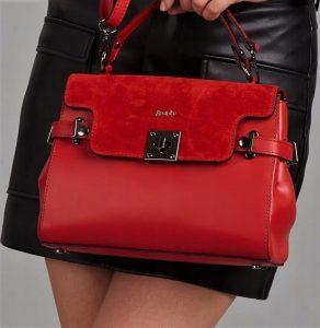 ROVICKY Červená shopper kabelka TWR-69 Velikost: univerzální