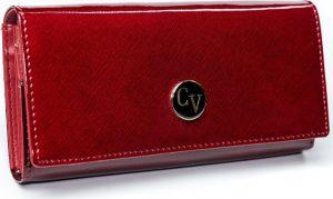 4U Cavaldi červená kožená peněženka (H24-1-SAF RED) Velikost: univerzální