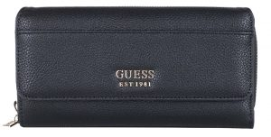Guess Dámská peněženka Lila Slg Lrg Clutch Organizer Black-Bla