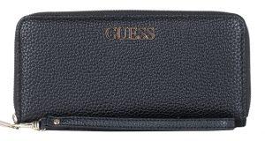 Guess Dámská peněženka Alby Slg Large Zip Around Black-Bla