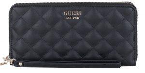 Guess Dámská peněženka Miriam Slg Large Zip Around Black-Bla
