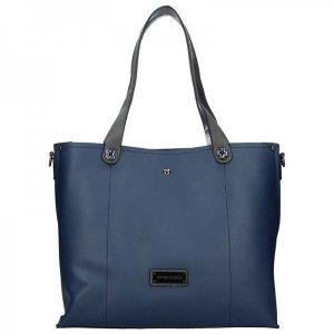 Dámská kabelka Pierre Cardin Apolen – modro-šedá