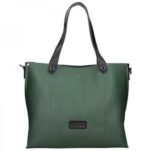 Dámská kabelka Pierre Cardin Apolen – zeleno-černá