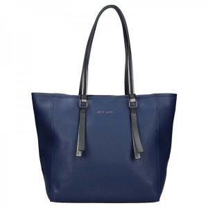 Dámská kabelka Pierre Cardin Emma – modrá