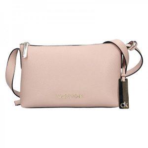 Dámská crossbody kabelka Calvin Klein Gweny – růžová
