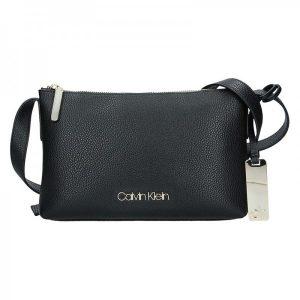 Dámská crossbody kabelka Calvin Klein Gweny – černá