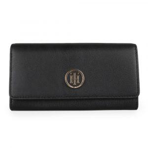 Tommy Hilfiger Dámská peněženka SM Large AW0AW07127 – černá