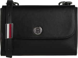 Tommy Hilfiger Dámská crossbody kabelka Th Smooth Crossover Black Mix