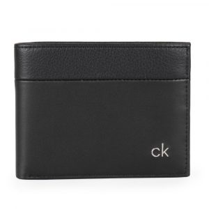 Calvin Klein Pánská kožená peněženka CK Direct K50K504835 – černá