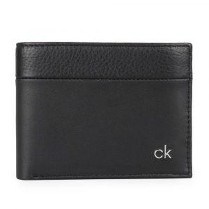 Calvin Klein Pánská kožená peněženka CK Direct K50K504838 – černá