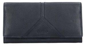 Lagen Dámská kožená peněženka 51454 Navy