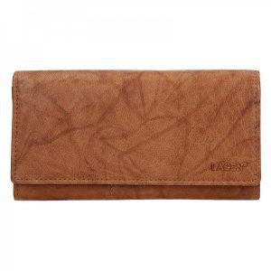 Dámská kožená peněženka Lagen Inge – koňak