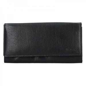 Dámská kožená peněženka Lagen Inge – černá