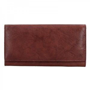 Dámská kožená peněženka Lagen Inge – hnědá