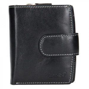 Dámská kožená peněženka Lagen Marcela – černá