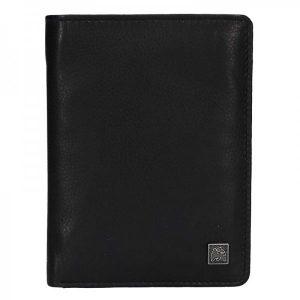 Kožená pánská peněženka Lerros Sid – černá