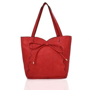 Kabelka Bando Shopper 2030 – červená červená