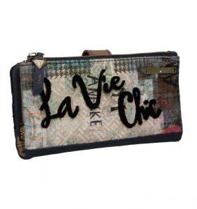 Anekke sametová peněženka Couture s motivem La Vie Chic