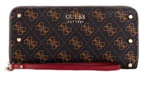 Guess Dámská peněženka Aline Slg Large Zip Around Multi-Brm