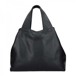 Dámská kožená kabelka Facebag Sofi – černá