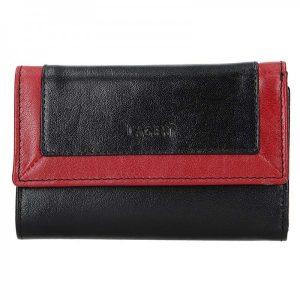 Dámská kožená peněženka Lagen Gina – černá