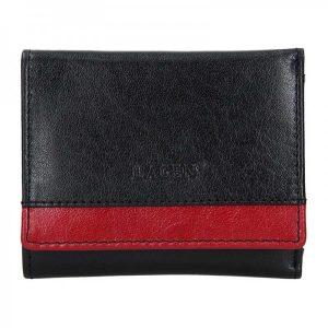 Dámská kožená peněženka Lagen Ela – černá