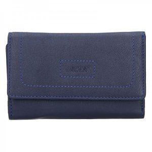 Dámská kožená peněženka Lagen Debora – modrá