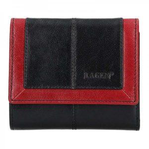 Dámská kožená peněženka Lagen Bianka – černá