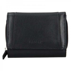Dámská kožená peněženka Lagen Alma – černá