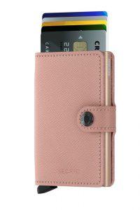 Secrid speciální kožená peněženka Mini Wallet Crisple Rose Floral