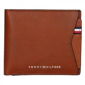 Pánská kožená peněženka Tommy Hilfiger Voitto – hnědá