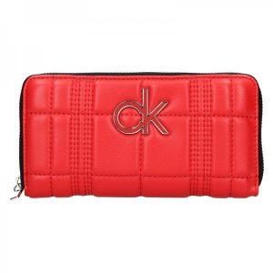 Dámská peněženka Calvin Klein Leona – červená