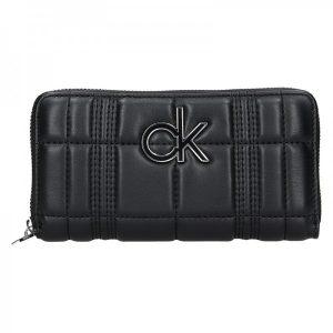 Dámská peněženka Calvin Klein Leona – černá
