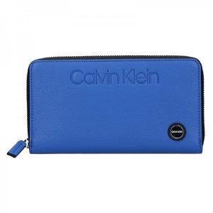 Dámská peněženka Calvin Klein Vanila – modrá