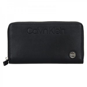 Dámská peněženka Calvin Klein Vanila – černá