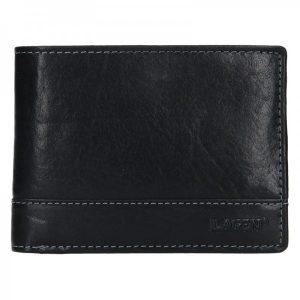 Pánská kožená peněženka Lagen Lorenc – černá