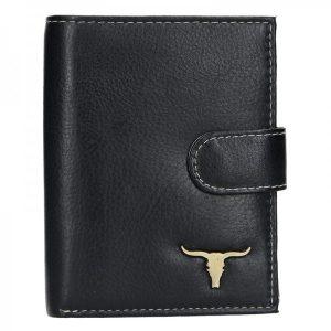 Pánská kožená peněženka Wild Buffalo Marco – černá