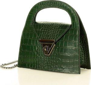 MARCO MAZZINI zelená kabelka (l168e) Velikost: univerzální