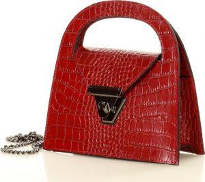 MARCO MAZZINI červená kabelka (l168f) Velikost: univerzální