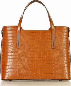 MARCO MAZZINI camel shopper kabelka (387e) Velikost: univerzální