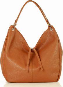 Camel shopper kabelka se zipy MARCO MAZZINI (s230b) Velikost: univerzální