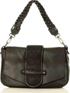 MARCO MAZZINI černá shopper kabelka (v43a) Velikost: univerzální