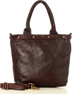 Hnědá shopper kabelka MARCO MAZZINI (v34e) Velikost: univerzální
