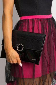Rovicky černá večerní kabelka (W64A EXTRA 100/47W) Velikost: univerzální