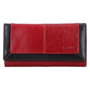 Lagen Dámská kožená peněženka BLC-4228-219 Red/Blk