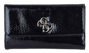 Guess Dámská peněženka Kelsey Slg Pocket Trifold Black-Bla